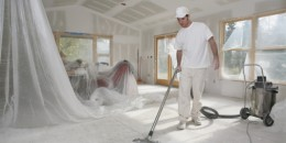 Taper Vacuuming Dust